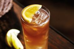 Long Island Iced Tea - mix together equal measures of Captain Morgan Spiced Gold rum, vodka, gin, tequila, orange liqueur, sugar syrup, lemon juice & lime juice. Pour into a tall glass and top up with coke.