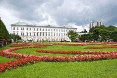 Mirabell Gardens, Salzburg, Austria...going here summer 2014!