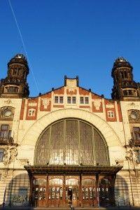 Prague central station (Praha hlavní nádraží), Czech Republic: an old classic that has received a modern update Central Station, Bus Station, Train Route, Most Beautiful Cities, Train Travel, Budapest, Big Ben, Places To Go, Berlin