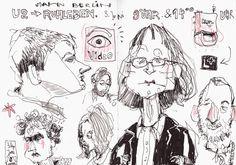 Unser Autor Felix Scheinberger zeigt neue Illustrationen auf seiner Homepage!