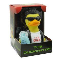 Duckinator RUBBER DUCK Costume Quacker Bath Toy by CelebriDucks