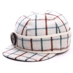 Stormy Kromer Womens Button Up Plaid Caps Wintergreen