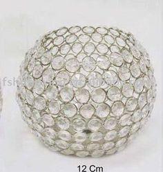 Smaller crystal votive