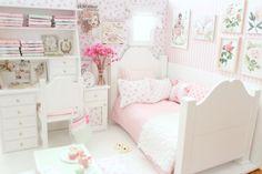 Blanco iluminaciones - muñeca dormitorio Diorama - Blythe/Pullip/Pukifee/Lati/Yosd/BJD/Dal