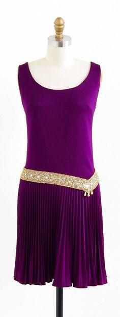Dress 1960s Rococo Vintage