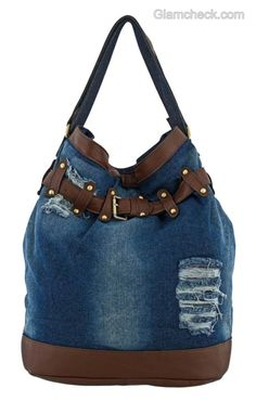 Tattered jeans are a staple at our house. Never thought to upcycle like this idea. Hmmm.....