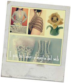 Troverete qui gli schemi dei più bei lavori a maglia da scaricare e rifare a casa presi dal web. Se ti va, aggiungi anche i tuoi!