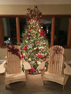 Adirondack chairs we made