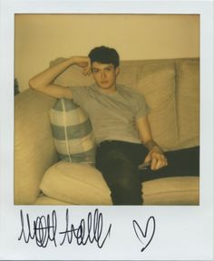 Matt Ardell at FM Models. Instant Analogue by Cecilie Harris. Special thanks to Impossible.
