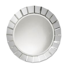 Uttermost 11900 B Fortune Frameless Round Wall Mirror