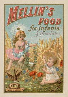 Mellin's Food for Infants and Invalids Advertisement Reproduction