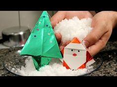 Como fazer neve artificial (decoração de Natal e experiência de química)