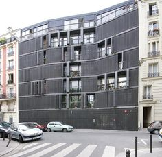 Rue des Suisses Housing. Paris, France. 2000. Herzog & de Meuron