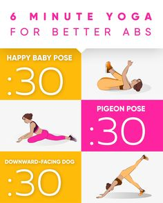 30 Minutes Yoga for Better ABS Yoga workout for you to get perfect ABS! Poses were created to reduce the size of the belly quick and easy! Do it and enjoy the results! Yoga Bewegungen, Yoga Pilates, Yoga Moves, Yoga Abs, Yoga Flow, Fitness Workouts, Easy Workouts, Yoga Fitness, Physical Fitness