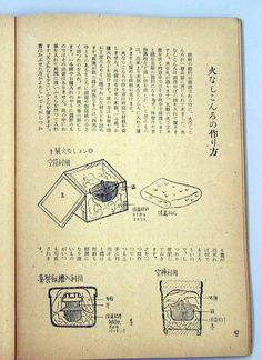 Suggestions how to make FUELLESS COOKER with using Woden boxes or barrels Japanese magazine for housewives in 1943.