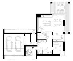 INOSTUDIO Architekci Gliwice, Katowice, Zabrze, biuro projektowe,pracownia architektoniczna,projekty domów,wnętrz,nowoczesne,jednorodzinne,parterowe,energooszczędne,pasywne,budowa,Chorzów,Rybnik,Tarnowskie Góry,Mikołów,Bytom,Kraków,Wrocław,Warszawa,Śląsk Future House, House Plans, Floor Plans, House Design, How To Plan, Kingston, Modern, Houses, Inspiration