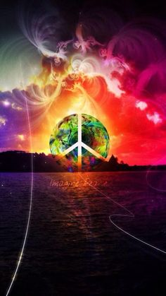 25 Trendy Drawing Trippy Hippie Peace And Love Paz Hippie, Estilo Hippie, Hippie Peace, Happy Hippie, Hippie Love, Hippie Chick, Yoga Studio Design, Peace On Earth, World Peace