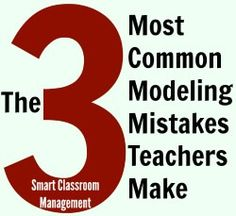 Whether you're teaching your students how to enter the classroom in the morning, turn in work, circle into groups, or even how to sit and attend during lessons, modeling is the most effective and efficient way to do it. Yet, it's an area many teachers struggle with. The truth is, your ability to model what …