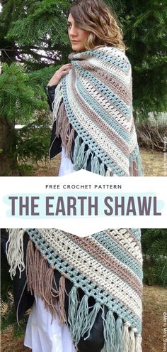 One Skein Crochet, Beau Crochet, Poncho Au Crochet, Crochet Prayer Shawls, Pull Crochet, Crochet Shawls And Wraps, Crochet Scarves, Crochet Clothes, Crochet Edgings