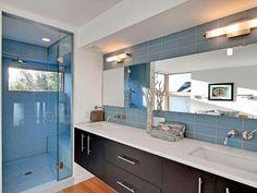Muebles para Baños en ESTILO MODERNO  Bathroom Ideas www.DecoraOnline.com