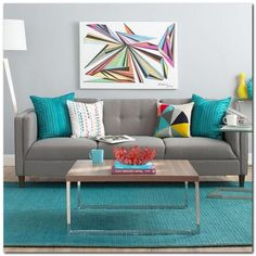 Beautiful Turquoise Room Ideas for Inspiration Modern Interior Design and Decor. Find ideas and inspiration for Turquoise Room to add to your own home. Home Living Room, Living Room Designs, Living Room Furniture, Living Room Decor, Furniture Decor, Apartment Living, Modern Furniture, Furniture Design, Luxury Furniture