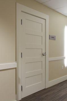 5 Panel - contemporary - interior doors - other metro - Supa Doors
