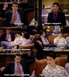 I love joey and chandler