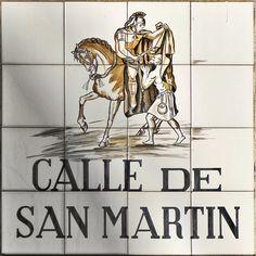Madrid street signs. - Жжурнал Андреича