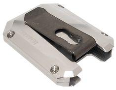 Unfinished Aluminum Wallet w/ Titanium Money Clip Edc Wallet, Compression Springs, Aluminum Wallet, Powder Coating, Firearms, Money Clip, Design, Weapons