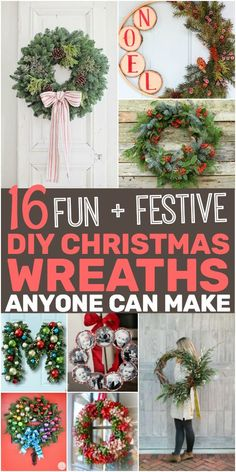 Check out these Surprisingly Easy DIY Christmas Wreaths That'll Instantly Transform Your Home! Get your home ready for the Christmas season with these Easy DIY Christmas Wreaths Anyone Can Make. Mason Jar Crafts, Mason Jar Diy, Diy Fest, Christmas Diy, Christmas Decorations, Christmas Crafts To Sell Make Money, Christmas Cactus, Christmas Projects, Christmas Ornament