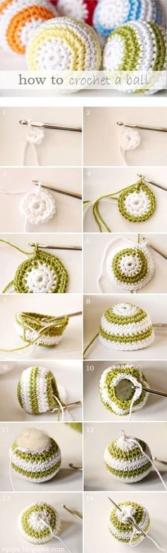 Diy Crochet Ball - Click for More...