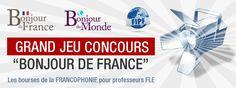 Apprendre le français – Cours et exercices gratuits avec Bonjour de France Curso gratuito de frances