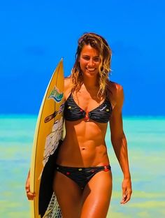 It's no surprise surfer's usually have the best bodies on the beach.  Take a look at this surfer workout, designed to help you build lean, shapely muscles while also lowering your body fat percentage.