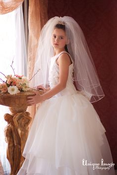 57b638dbf651 Gorgeous one-of-a-kind Holy Communion Portraits at Unique Image Photography  LLC