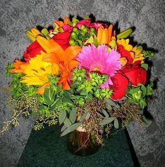 Wedding Reception - Floral Expressions Inc - Janesville, WI Florist by Floral Expressions of Janesville, WI, via Flickr - http://floralexpressionsjanesville.com