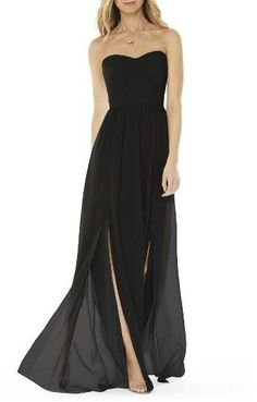 Looking for Social Bridesmaids Strapless Georgette Gown ? Check out our picks for the Social Bridesmaids Strapless Georgette Gown from the popular stores - all in one. Burgundy Bridesmaid, Bridesmaid Dresses, Prom Dresses, Wedding Dresses, Bridesmaid Ideas, Green Bridesmaids, Bride Dresses, Burgundy Dress, Burgundy Color