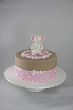 Cloe Christening Cake by Designer Cakes By Effie, via Flickr