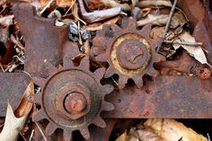 Rusty Gears by Bill Smith