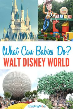 What are the best rides for babies at Walt Disney World? Check out this complete ride guide with everything you need to know about going to Disney with a baby. Includes tips on character greetings, dining and more for babies at Disney World. Walt Disney World, Disney World Rides, Disney World Vacation, Disney Cruise Line, Disney Vacations, Disney Travel, Dream Vacations, Disney Vacation Planning, Disney World Planning