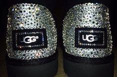 ... Custom sparkle Uggs!!