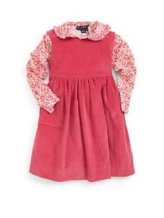 dresses for little girls sak fifth ave | ... Little Girl's Corduroy Pinafore Dress $195.0 by Saks Fifth Avenue