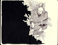 Thomke Meyer Illustration — moleskine sketches
