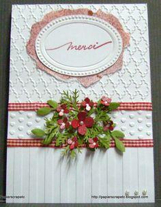 papierscrapetc: Une carte de remerciement ou d'anniversaire.