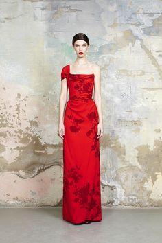 Look 23 Resort Collection #SS15 Drape Glazing Dress
