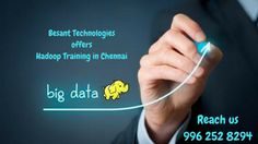 Hadoop's is a unique storage method based on a distributed file system. Besant Technologies offers best Hadoop training in Chennai
