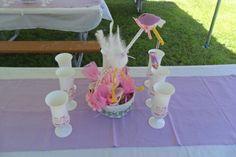 Centro de mesa para baby showers