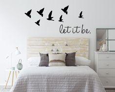 vinilos decorativos de pared frases - personalizados y más!!
