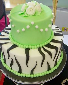 Cake Decorating Courses, Striped Cake, Beautiful Cakes, Amazing Cakes, Cake Makers, Cake Art, Cake Cookies, Decoration, Lime