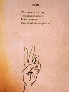 #peace #shel #silverstein