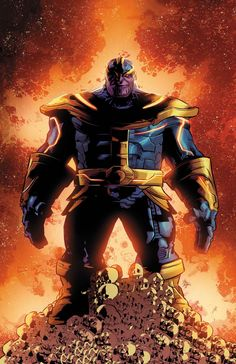 Mike Deodato Jr - Thanos